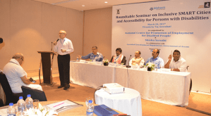 Making SMART Cities Accessible for Persons with Disabilities