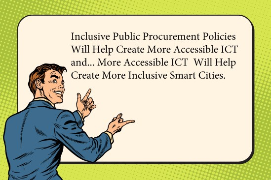 More Accessible ICT Will Help Create More Inclusive Smart Cities