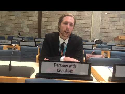 Focus on Persons with Disabilities at UN Habitat Assembly