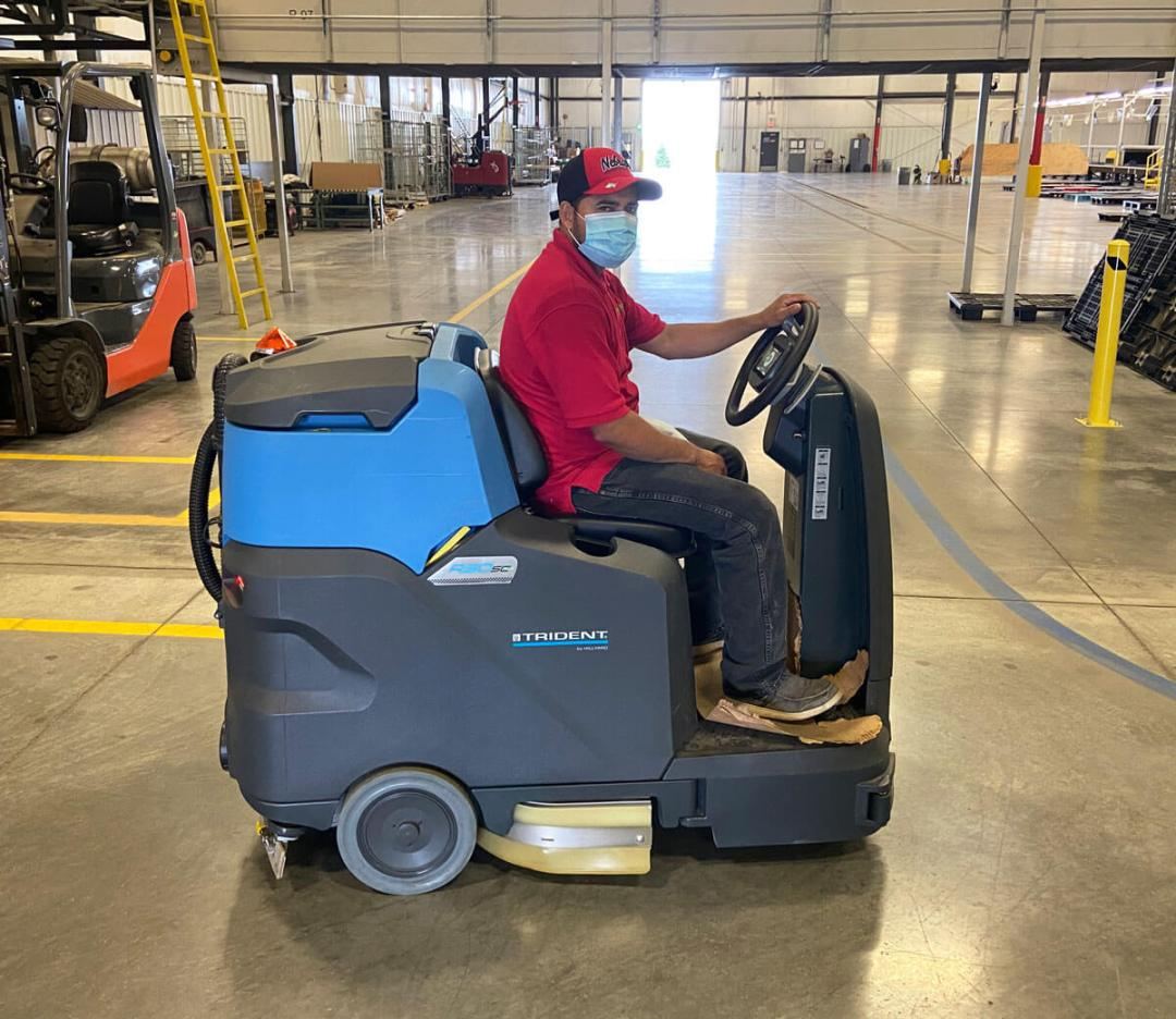 Industrial cleaning - Smartclean