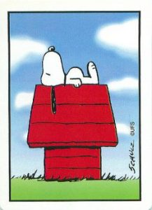 Snoopy Playing Cards – Mark Anderson