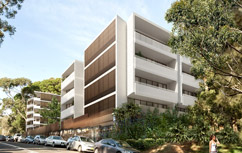 FIVE NEW BUILDINGS IN BONDI