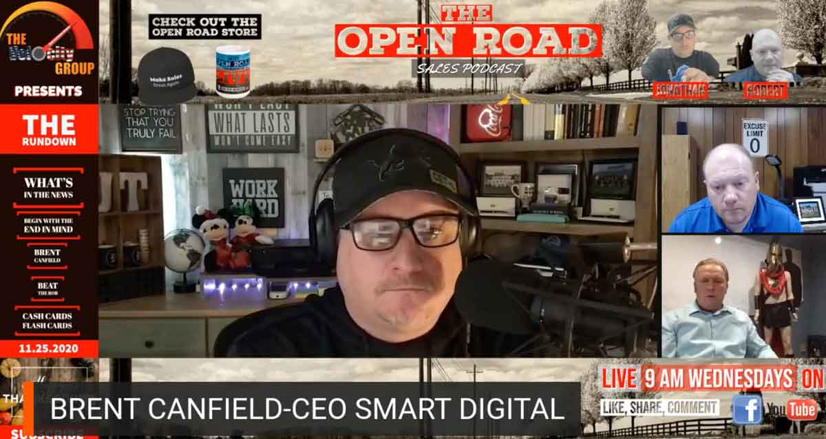 open road podcast about security