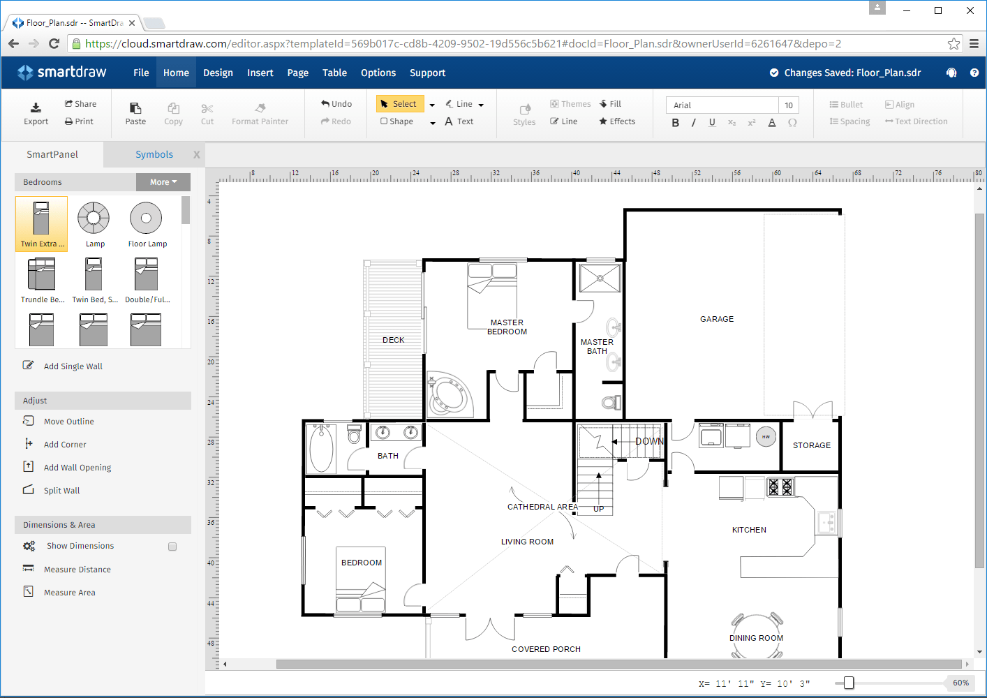 Make Floor Plans Online Free
