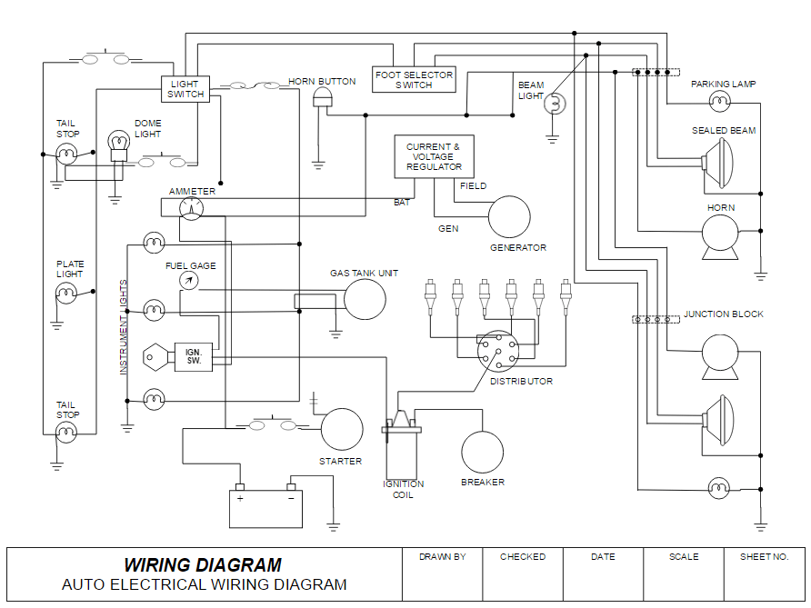 Wiring Diagram Software  Free Online App & Download