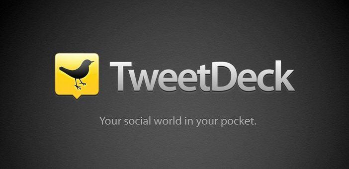 TweetDeck groß