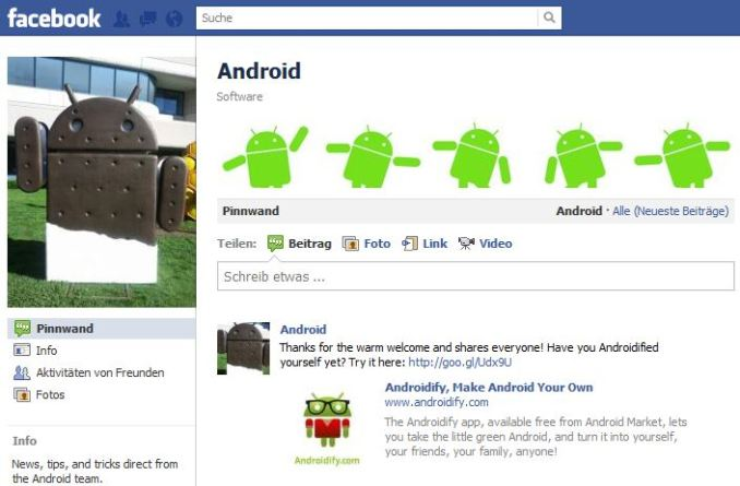 androidfacebook