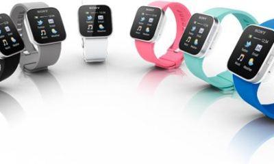 sony smartwatch produktbild