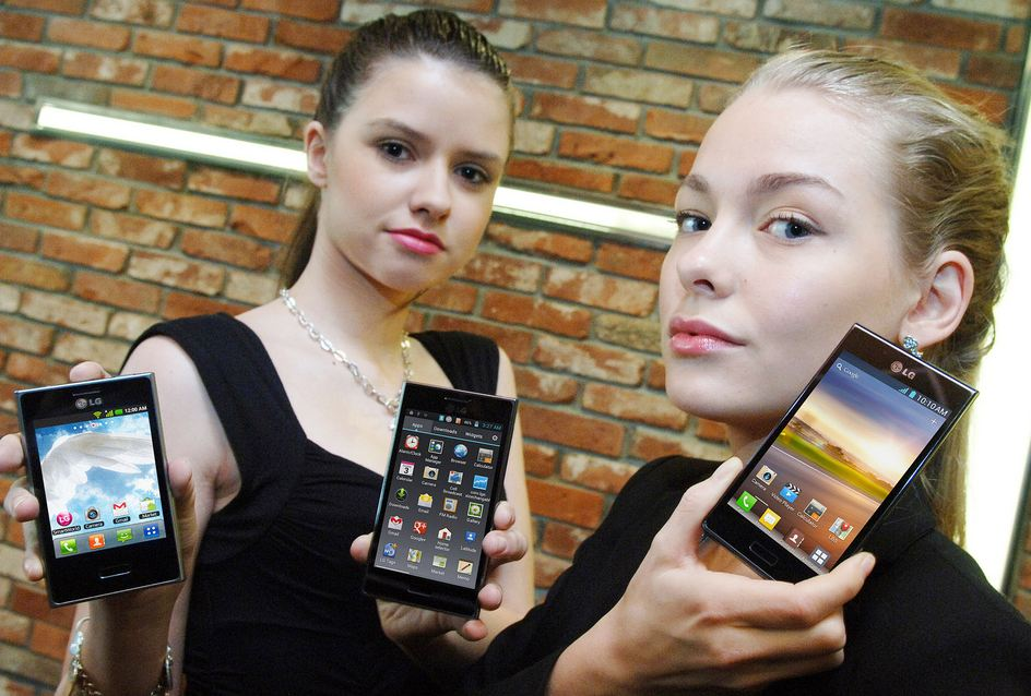 LG Optimus L7, L5, L3