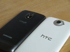 HTC One X vs Samsung Galaxy Nexus - Optik und Haptik