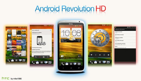 One_X Android revolution hd