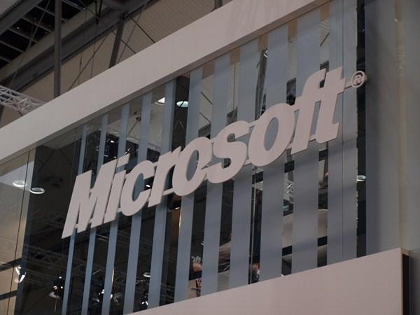 Microsoft Logo (CeBIT)