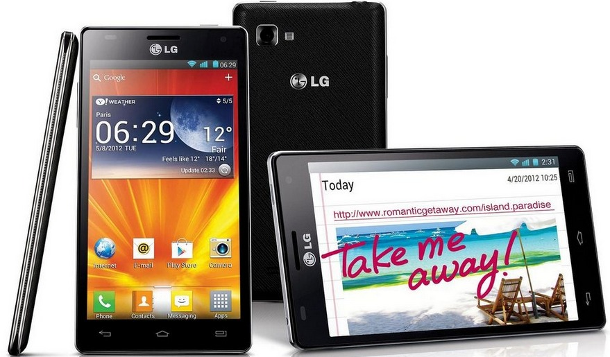 LG Optimus 4X HD Produktbild
