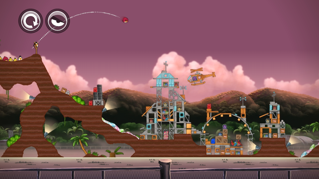 Angry Birds Trilogy Screenshot Header