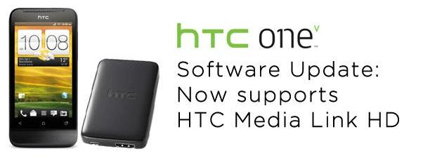 HTC One V Media Link Update