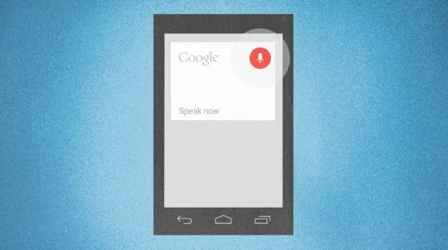 spracheingabe android jelly bean