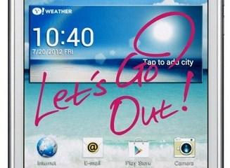 LG Optimus Vu Lets go out