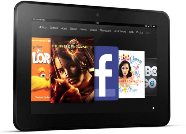 Amazon Kindle Fire HD Produktbild