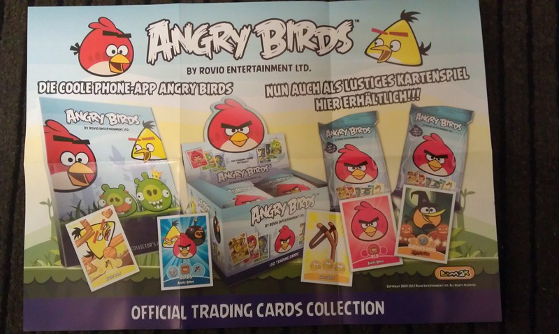 Angry Birds Trading Cards Deutschland (1)