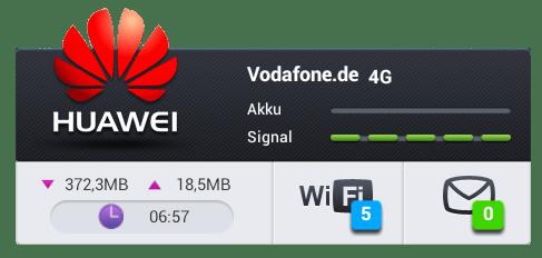 HUAWEI Mobile WiFi_Screen