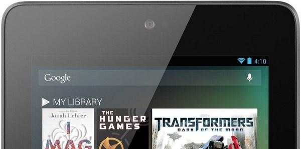 Nexus 7 Frontkamera