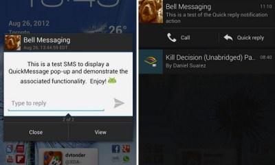 Quick Message CM10 Screenshots
