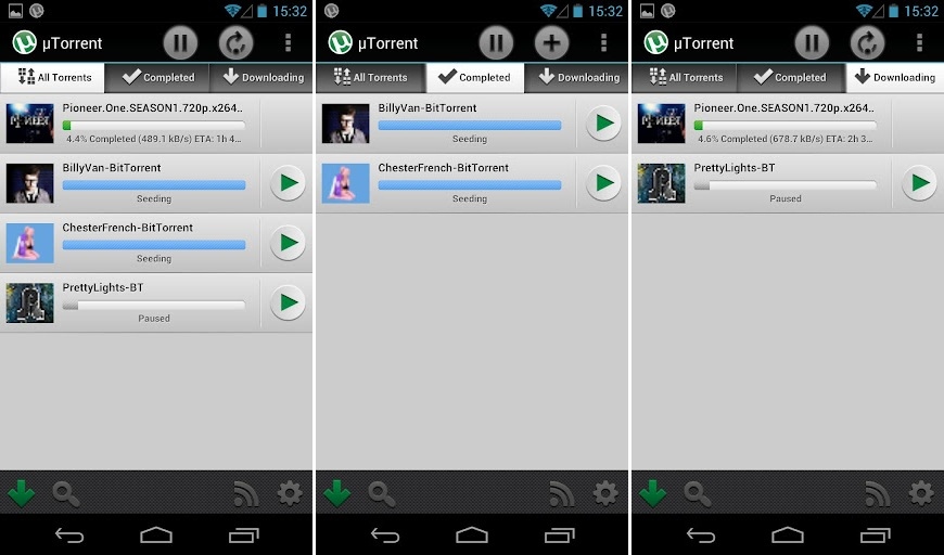 uTorrent Screenshots