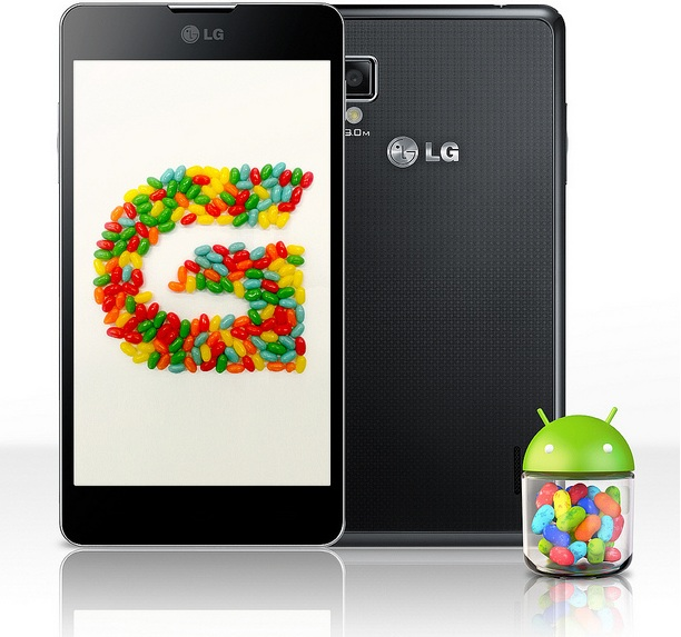 Optimus G Jelly Bean