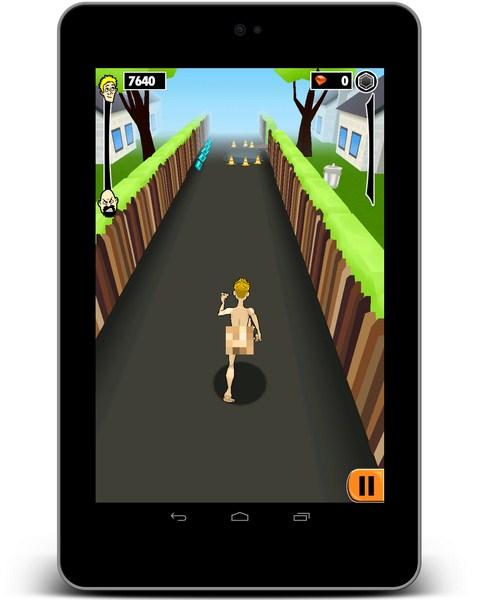 Streaker Run Screenshot
