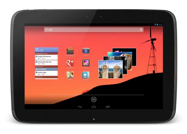 Nexus 10 Produktbild