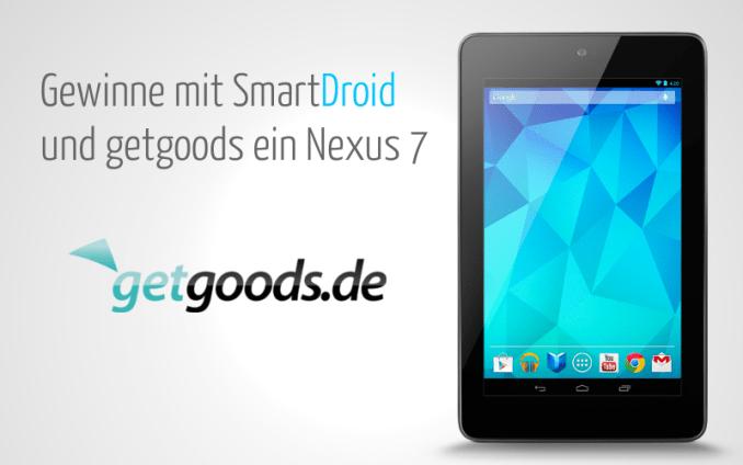Nexus 7 Gewinnspiel Header