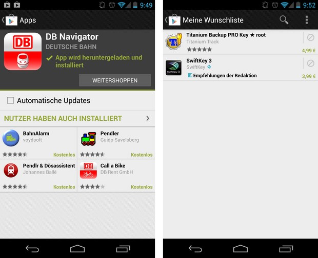 Play Store 3.10.9 Screenshots