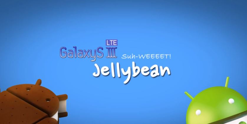sgs3 jelly bean vs ice cream sandwich video screenshot