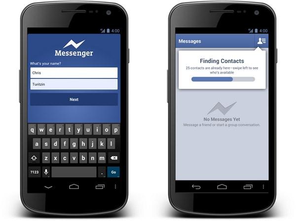 Neuer Facebook Messenger für Android verfügbar, jetzt auch