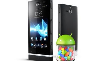 Sony Xperia Jelly Bean