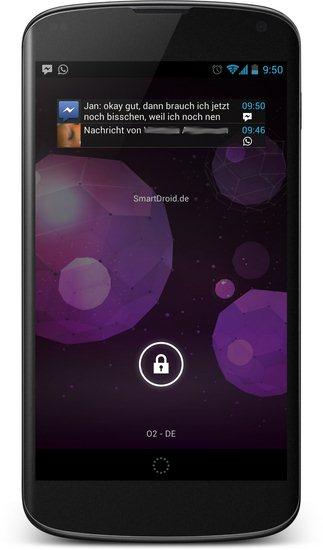 Lock Screen Notifications Widget