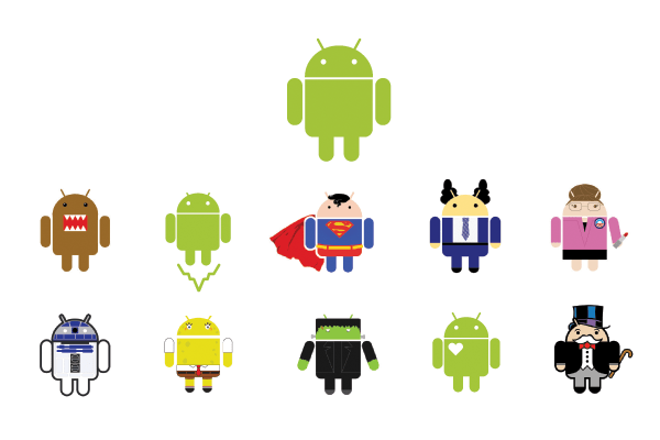 android-logos