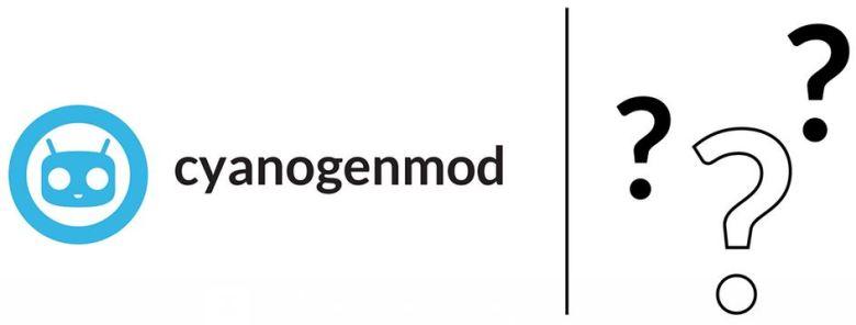 CyanogenMod Fragezeichen