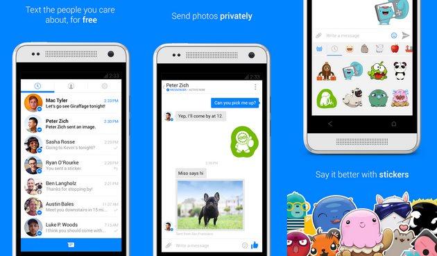 facebook messenger 2013 design