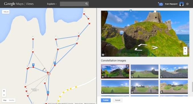 google street view photo sphere
