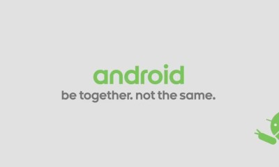 Android Logo be together, not the same