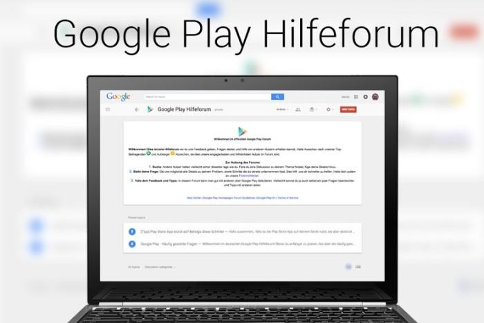 Google Play Forum