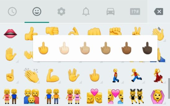 Stinkefinger WhatsApp