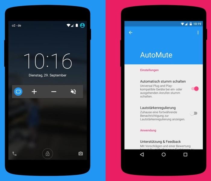 automute screenshots