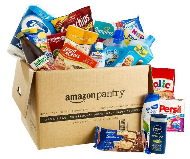 Amazon Pantry Box Header