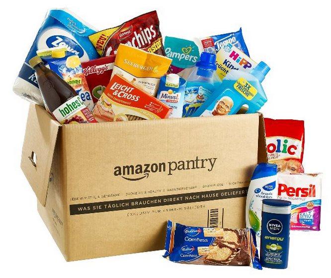 Amazon Pantry Box Header