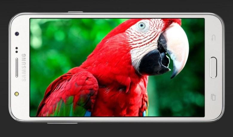 Samsung Galaxy J5 quer