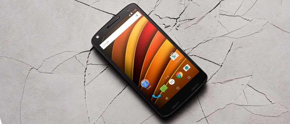 Moto X Force Header