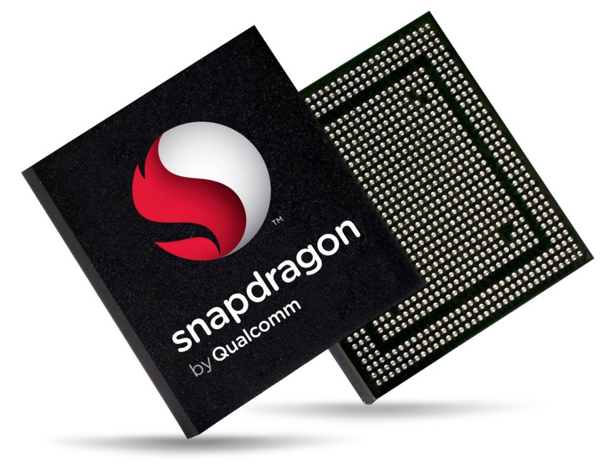 Qualcomm Snapdragon Logo Header