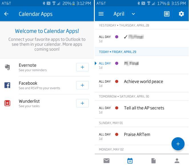 Outlook Calendar Apps